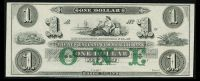 Newport, RI, New England Commercial Bank, $1, GEM CU